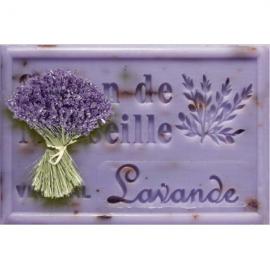 Lavendel met blaadjes - Savon de Marseille